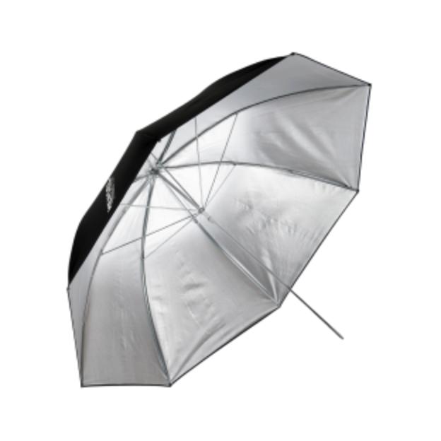 Hensel PXL Hvit eller Sølv - Hensel PXL Paraply hvit eller sølv m/ diffusjon. Dagspris: 100,- eks. mva.