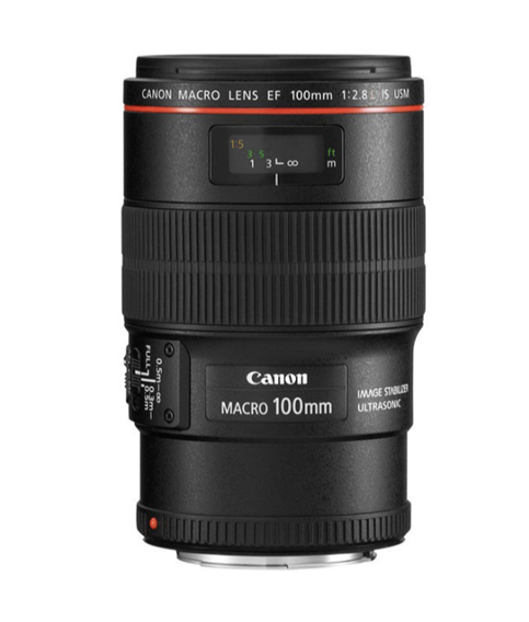 Canon EF 100mm f/2.8L Macro IS USM - Dagspris: 230,- ink mva