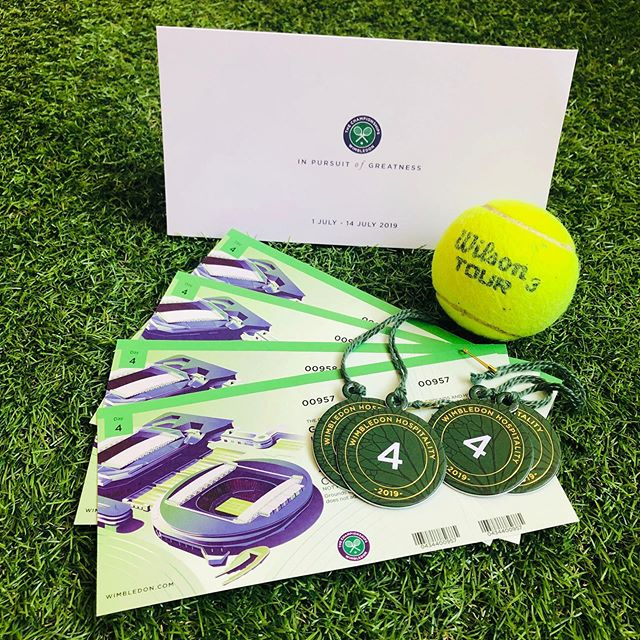 #Wimbledon tickets heading out to some very happy Jaguar Land Rover sales and service specialists, who wholeheartedly deserve to be rewarded for working together across departments. Well done folks, and enjoy the strawberries and sunshine ☀️