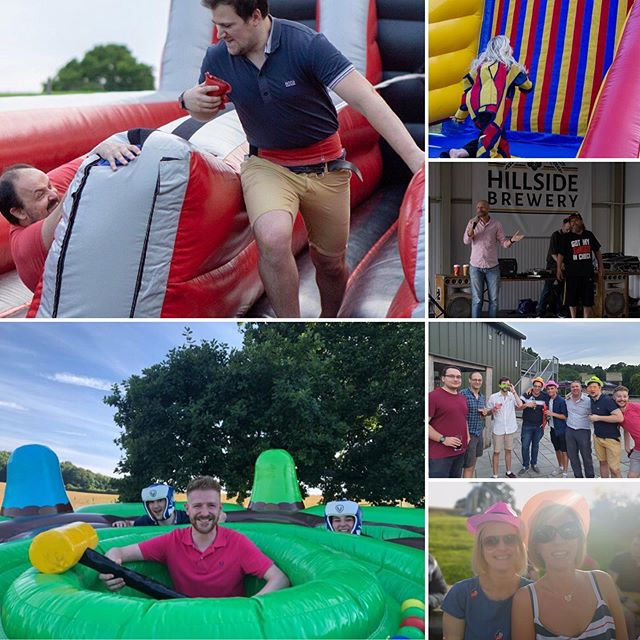 Inflatables for grown-ups, free style rapping & the finest craft ales: all the ingredients for a perfect summer do. Big thanks @hillsidebrewery for an awesome evening (of which, some of us are still recovering).