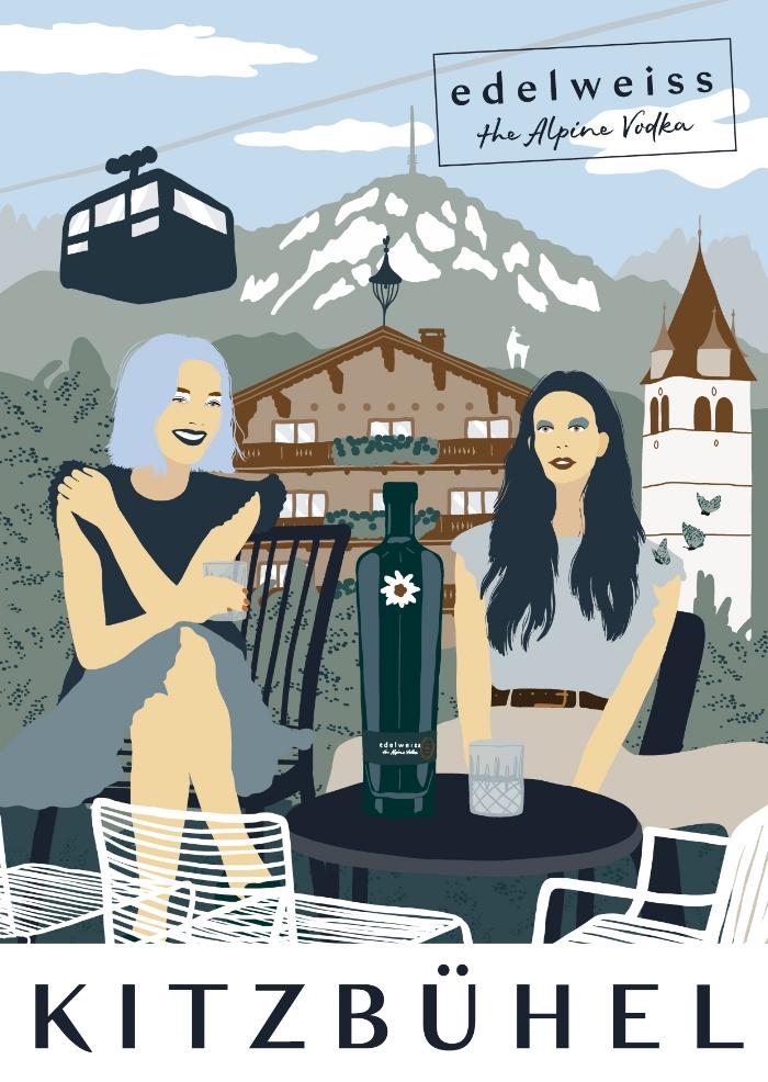 Postcard from Kitzbühel