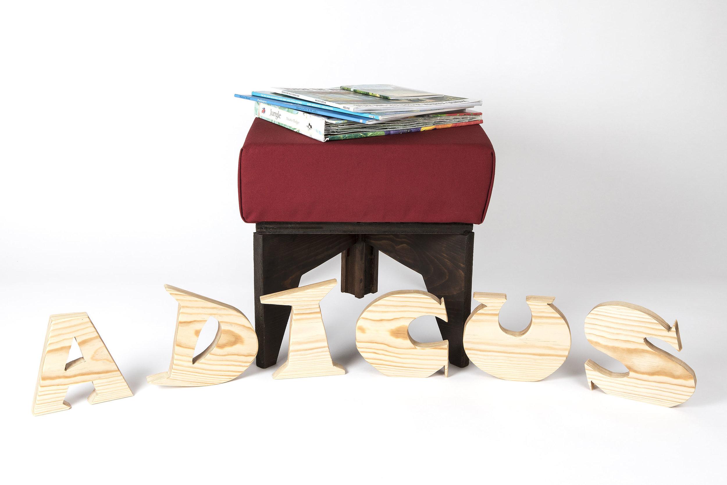Letter displays