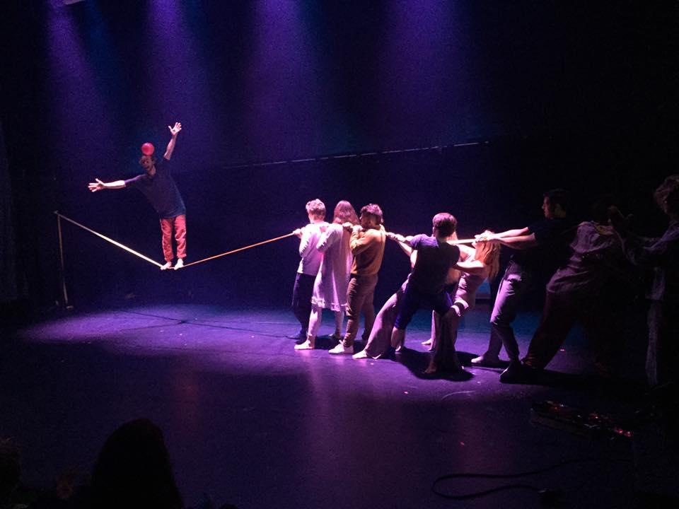 Circus Cabaret slackline Norway