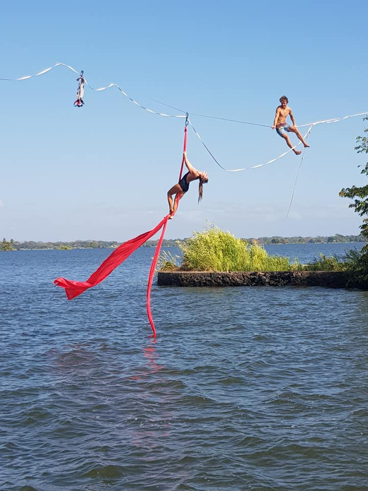 Join me in Nicaragua for some Slackline & Circus !!!
