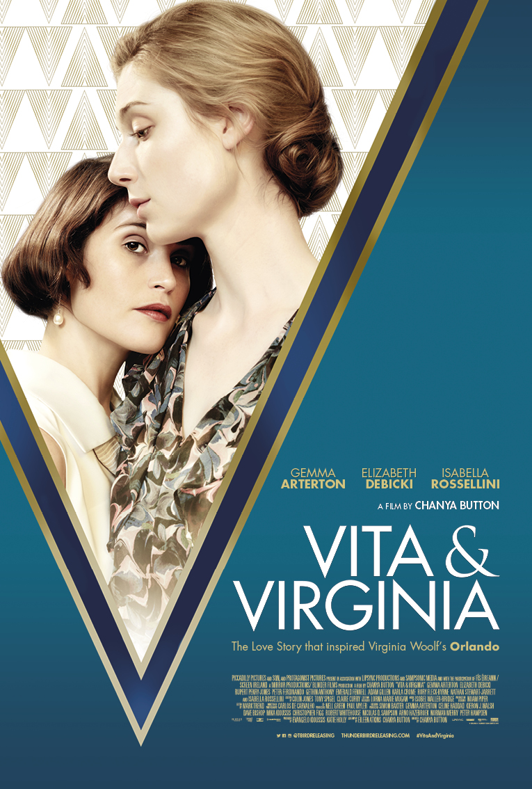 VITA & VIRGINIA - A Film by CHANYA BUTTONProduced by Evangelo Kioussis & Katie HollyExecutive Producers: Simon Baxter, Christopher Figg, Norman Merry, Nicolas SampsonStarring: Elizabeth Debicki, Gemma Arterton, Isabella RosselliniInternational Sales Agent: Protagonist Pictures - http://protagonistpictures.com/film/vita-virginia/