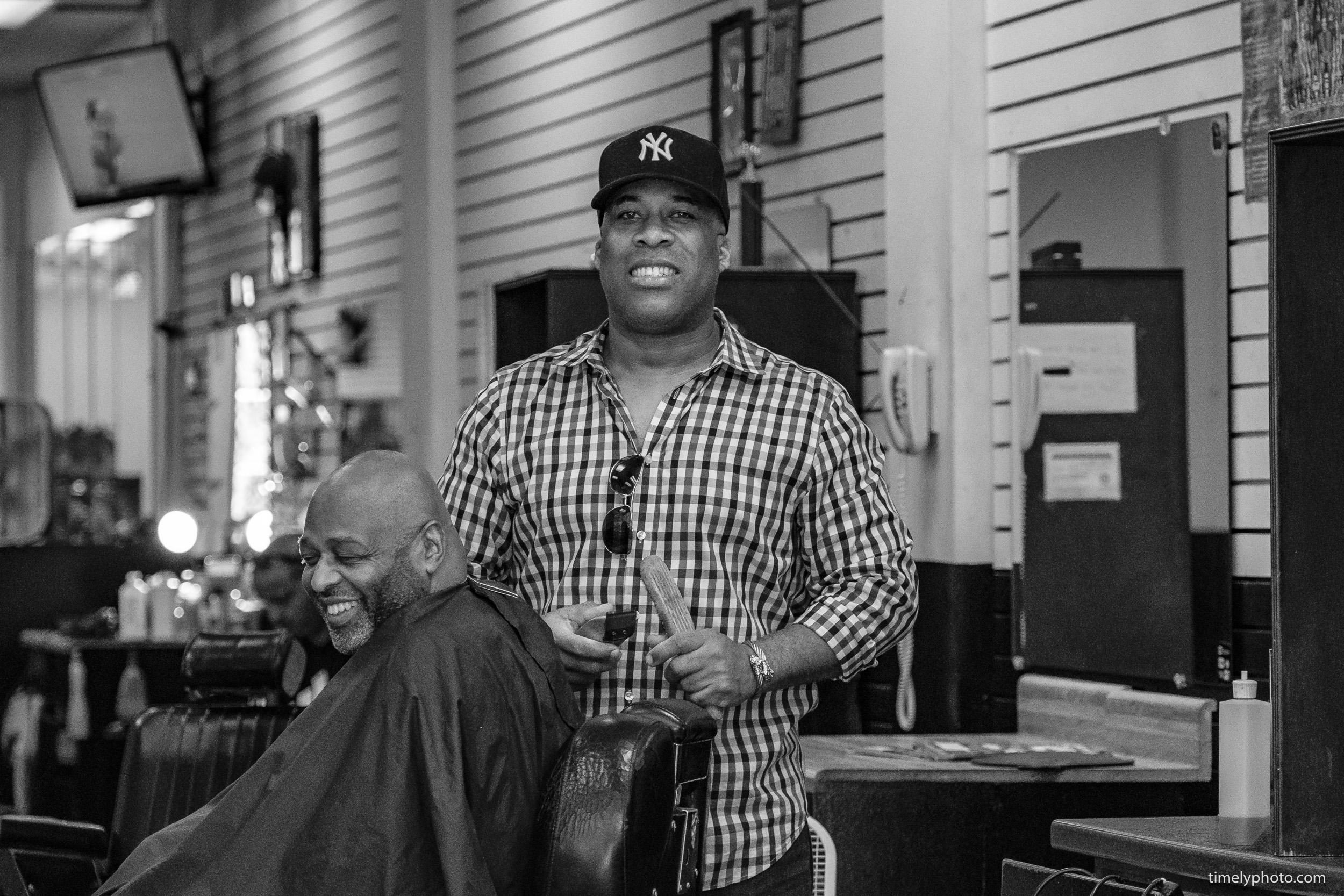 Atlanta Barber shop. 2018