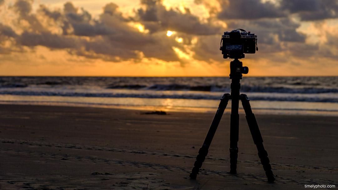 Jekyll Island, Georgia. Sunrise. Time-lapse with Fujifilm X-T3