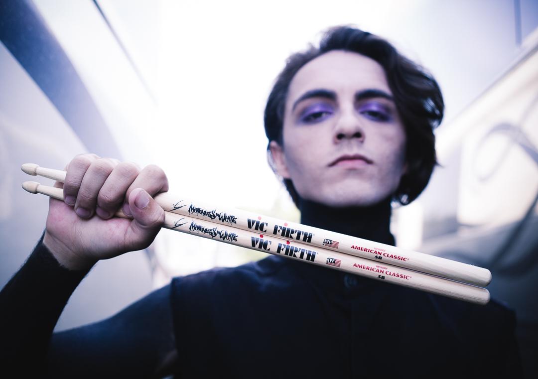 Shot for Vic Firth drumsticks.