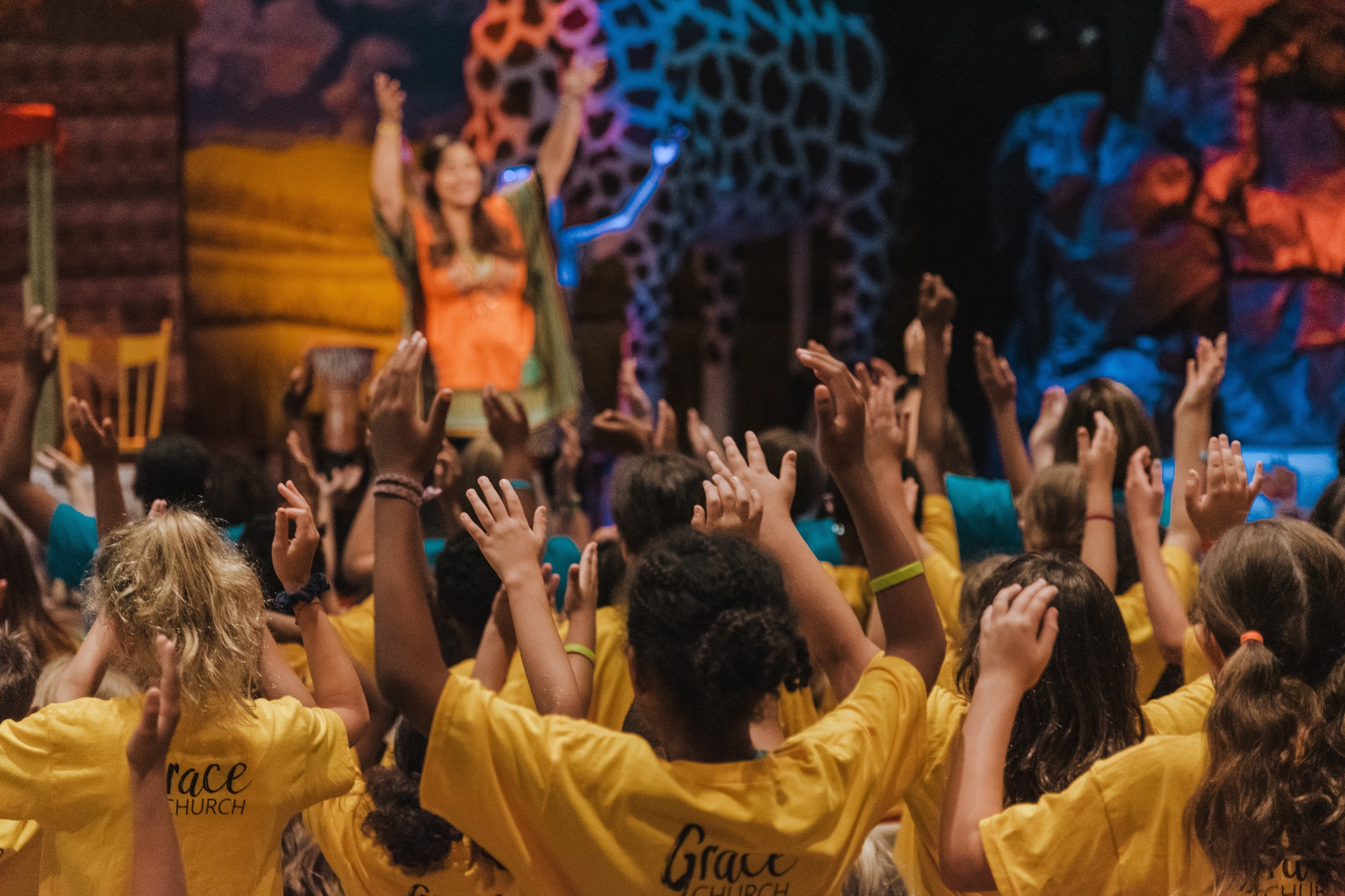 VACATION BIBLE SCHOOL - Every summer in July we host a week long VBS program for children from the church and the community.