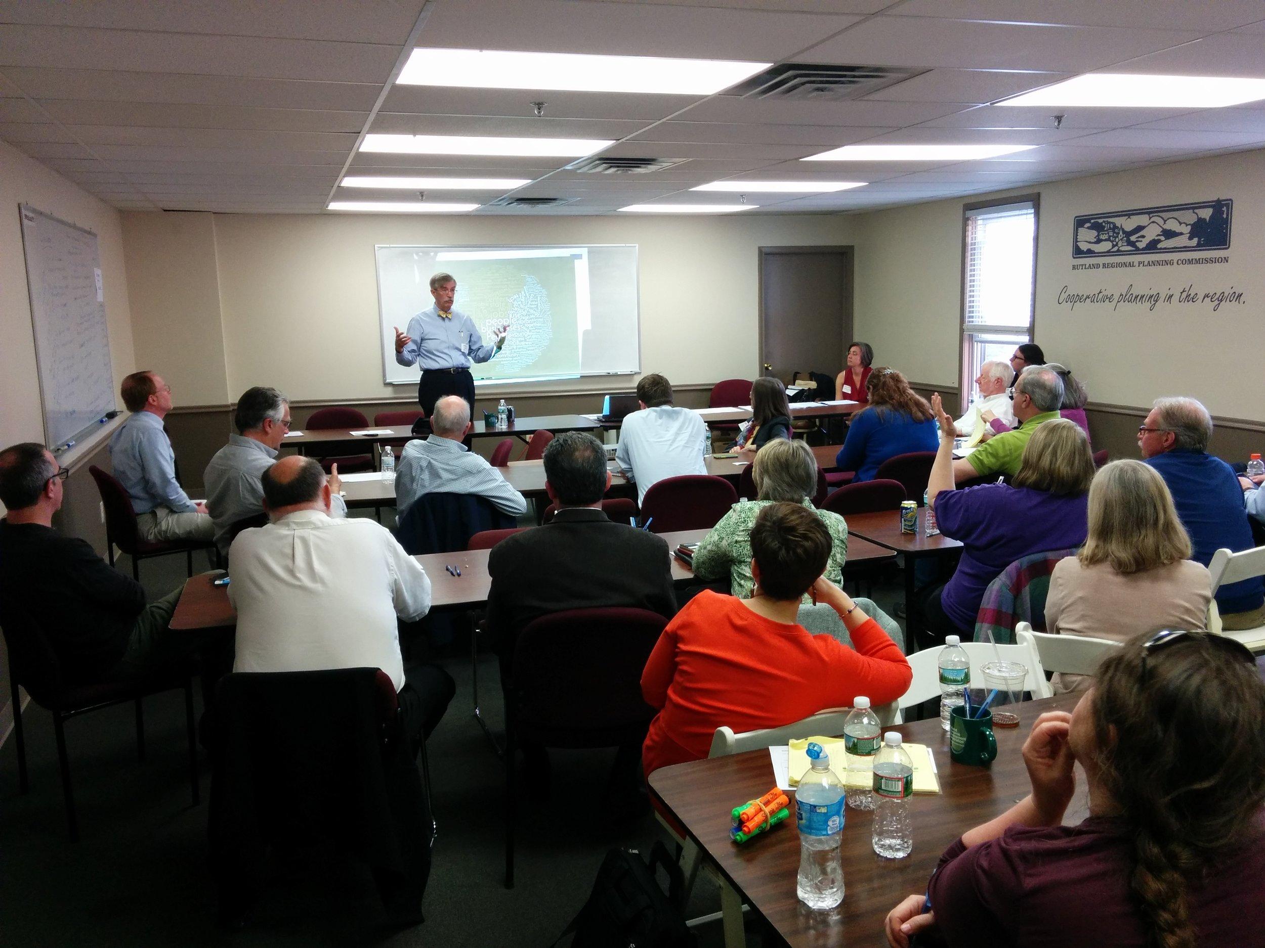 REDC Co-Hosts Vermont Futures Project Public Discussion
