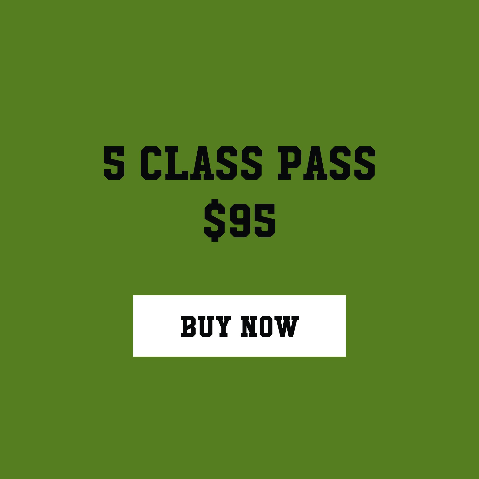 ($19 a class) Expires in twelve months