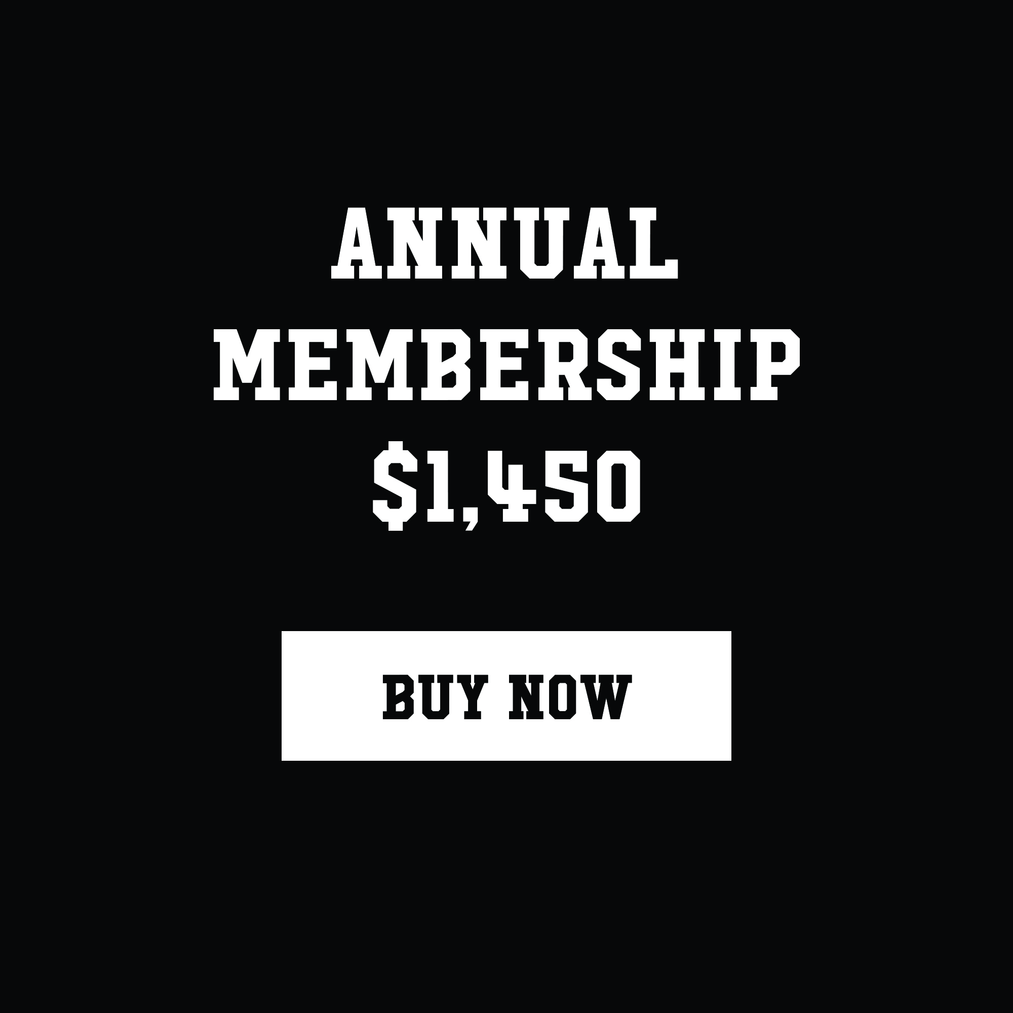 ($120 a month) Membership is paid upfront in full for the full year