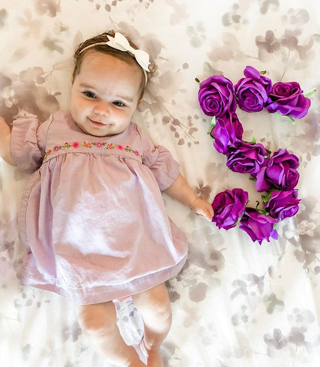 F I V E months of this most incredible, sweetest, cuddliest girl. We love your little giggles, your hugs and your smiles, and you love kisses alllll over your face, showing off your dimples and making all of us smile so big, too. We love you, baby Violet! 💜
