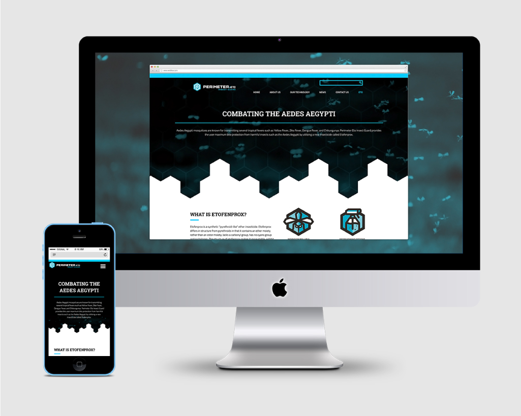 PERIMETER INSECT GUARD    Responsive Website