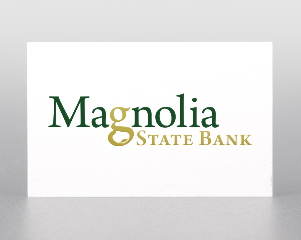 MAGNOLIA STATE BANK    Logo Design
