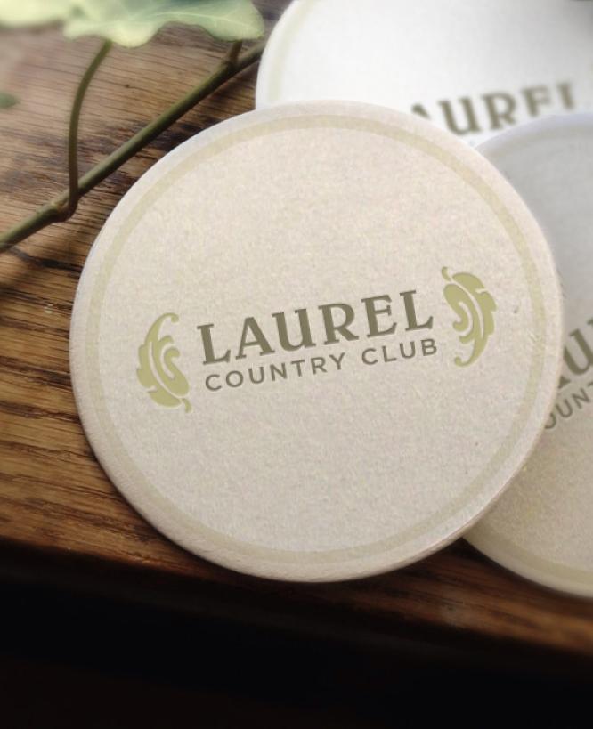 LAUREL COUNTRY CLUB    Coasters