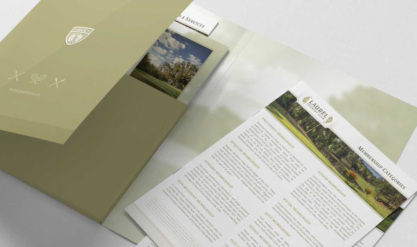 LAUREL COUNTRY CLUB    Membership Resource Packet