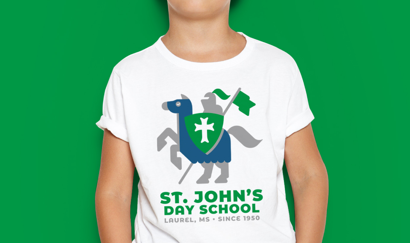 ST. JOHN'S DAY SCHOOL    Crusader T-Shirt