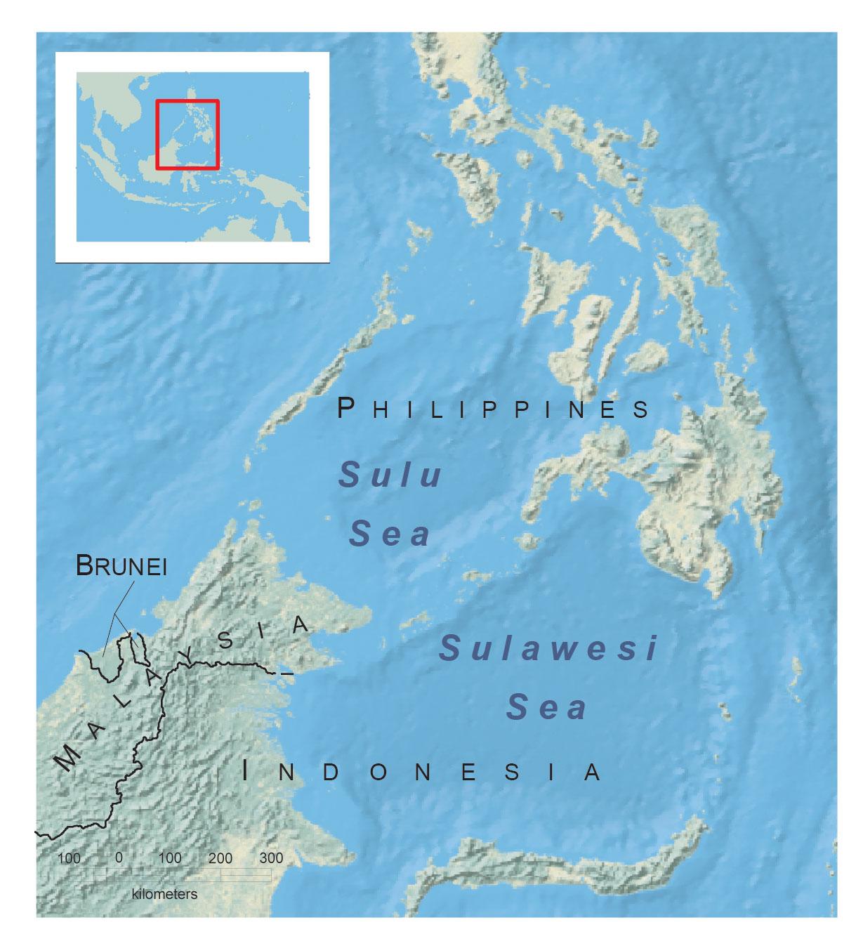 The Sulu-Sulawesi Seascape. © CONSERVATION INTERNATIONAL