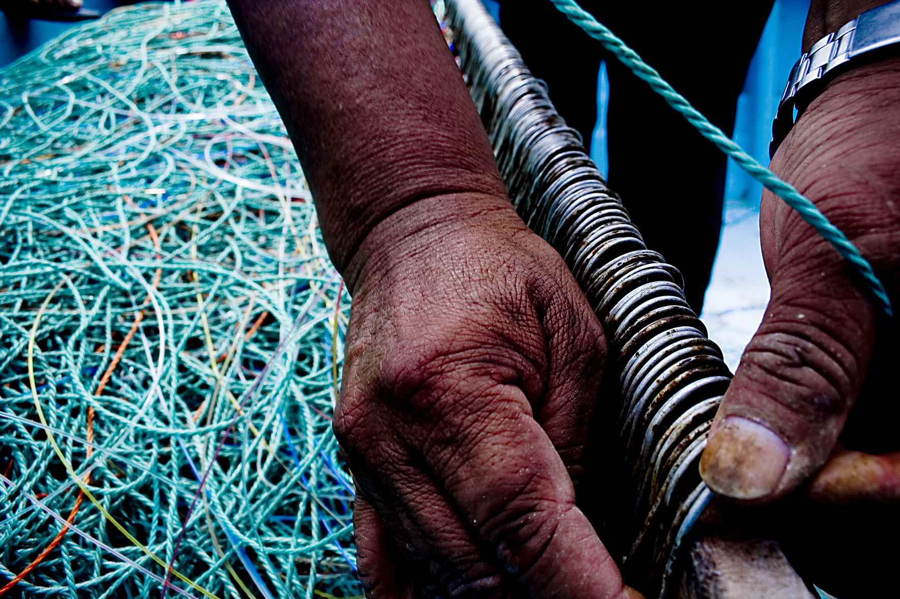 Artisanal fishing is a critical hazard that can cause death by drowning to sea turtles and other marine life. © IYORBank / Marine Image Bank