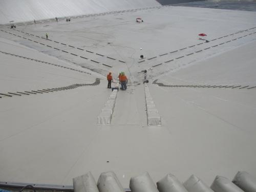 Lanpher Reservoir Construction, 2018