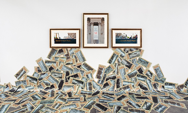 The Business Behind Art Knows the Art of the Koch Brothers,  Haacke, 2014