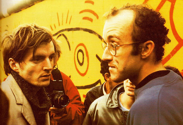 Thierry Noir ve Keith Haring