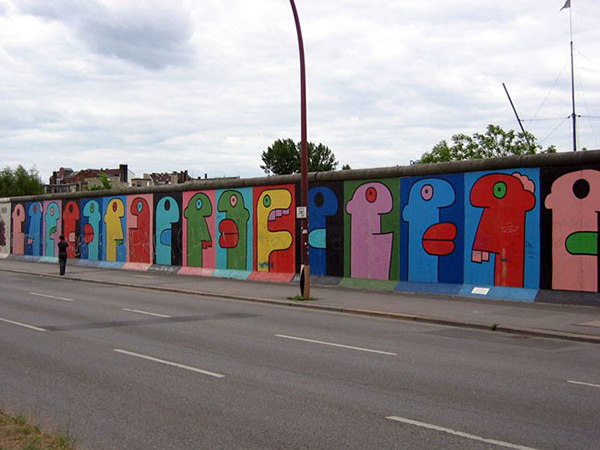 Thierry Noir — East Side Gallery