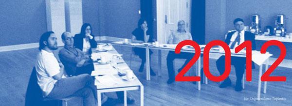 Vasıf Kortun'un da katıldığı Full Art Prize jüri değerlendirme toplantısı