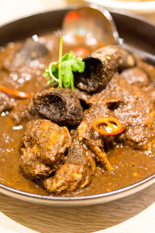 Chinese New Year 2018 - Folklore Tok Panjang Dinner - Ayam Buah Keluak