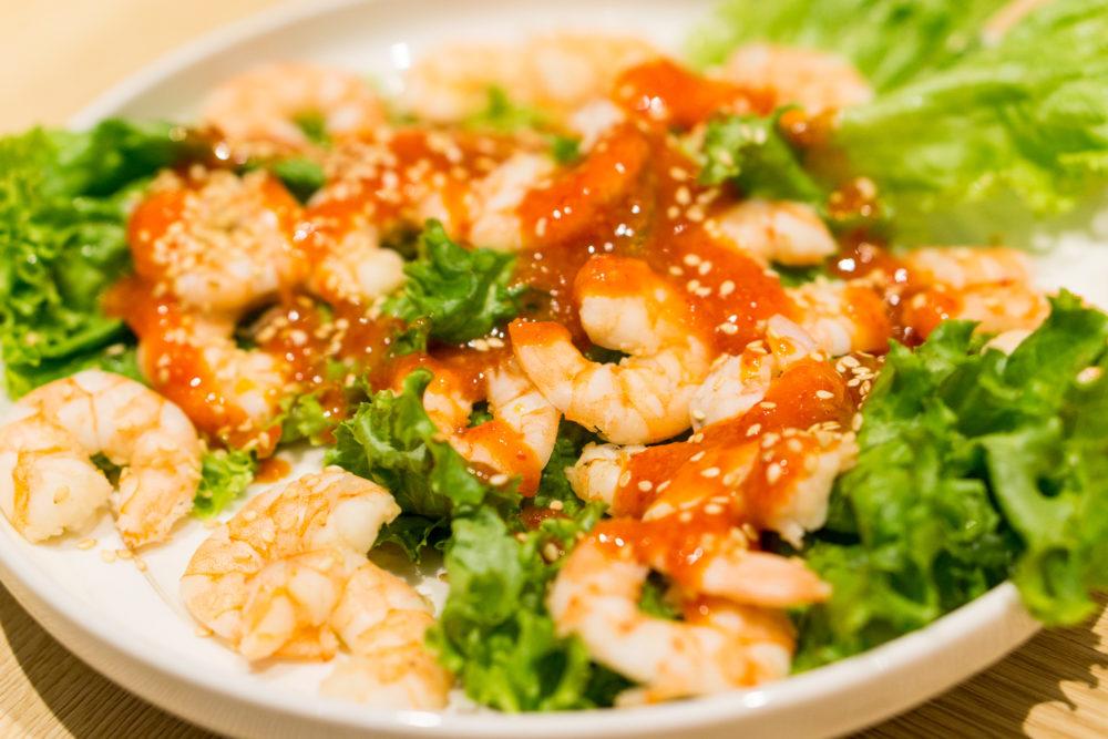 Chinese New Year 2018 - Folklore Tok Panjang Dinner - Peranakan Prawn Salad