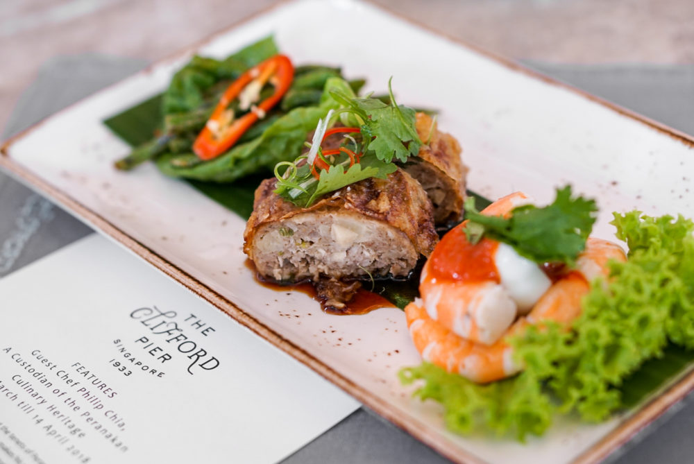Peranakan Heritage at The Clifford Pier, The Fullerton Bay Hotel Singapore - Sample Appetiser Platter