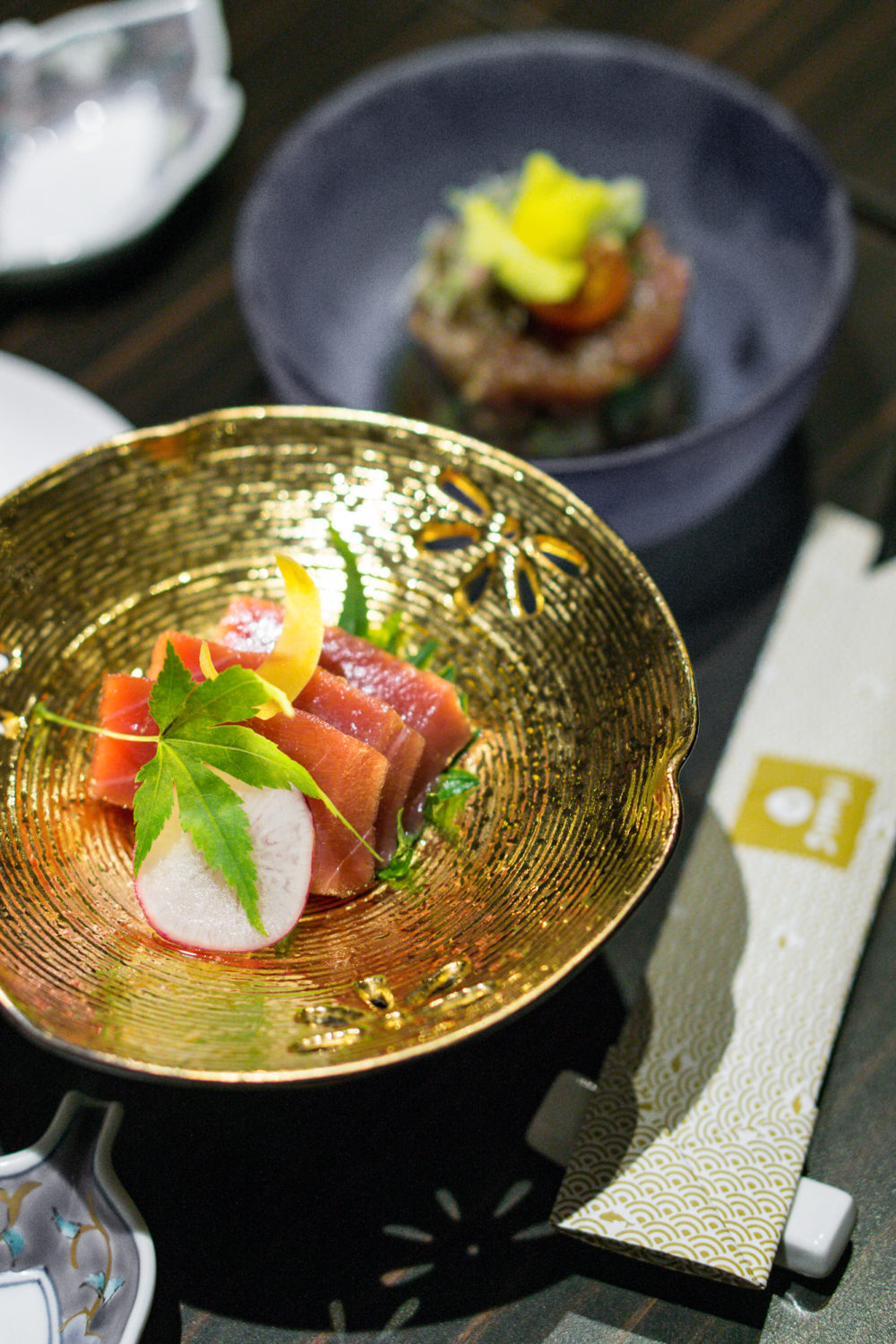 Goodwood Park Hotel Shima - Maguro Festival Ala Carte Menu - Sashimi and Tartare