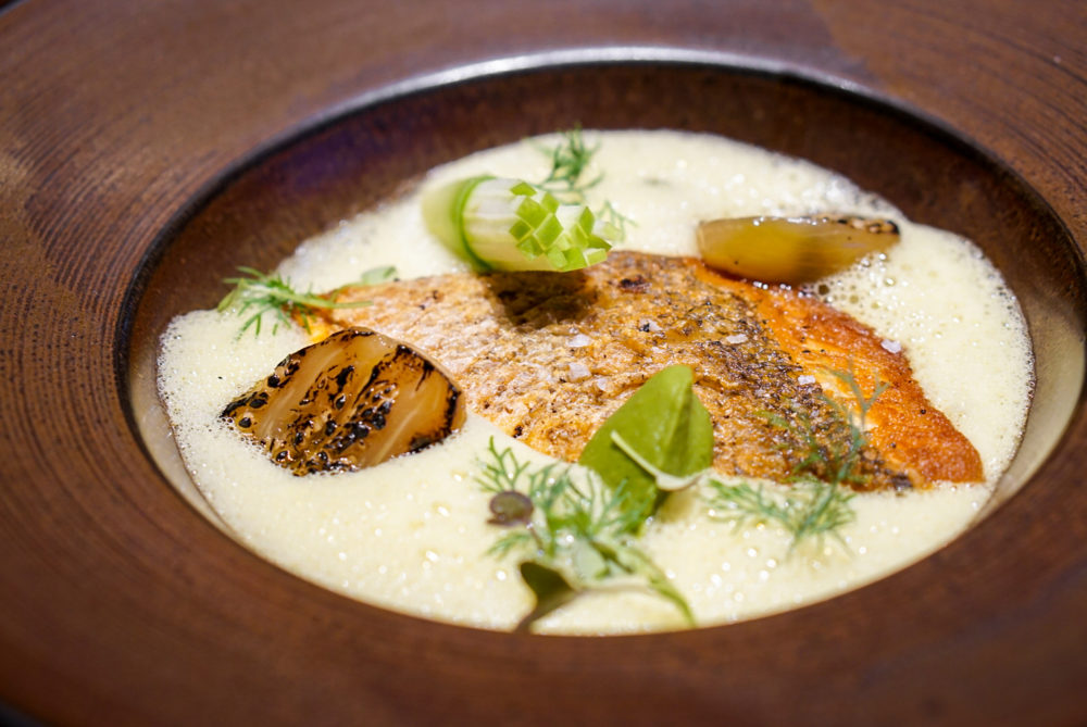 The Spot Singapore at Marina One - Pan-fried Red Snapper