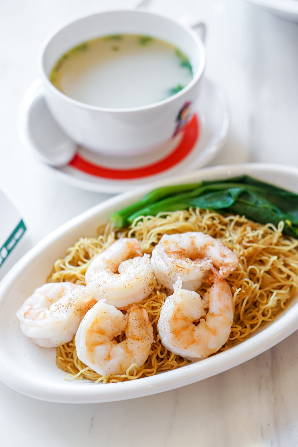 Tsui Wah Singapore Opens at Clark Quay - King Prawns in XO Sauce with Tossed Noodles