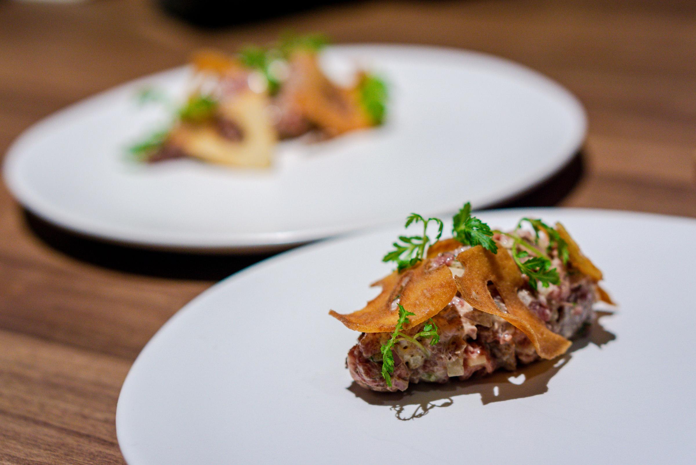 Restaurant Ibid, Woo Wai Leong - Lamb Tartare