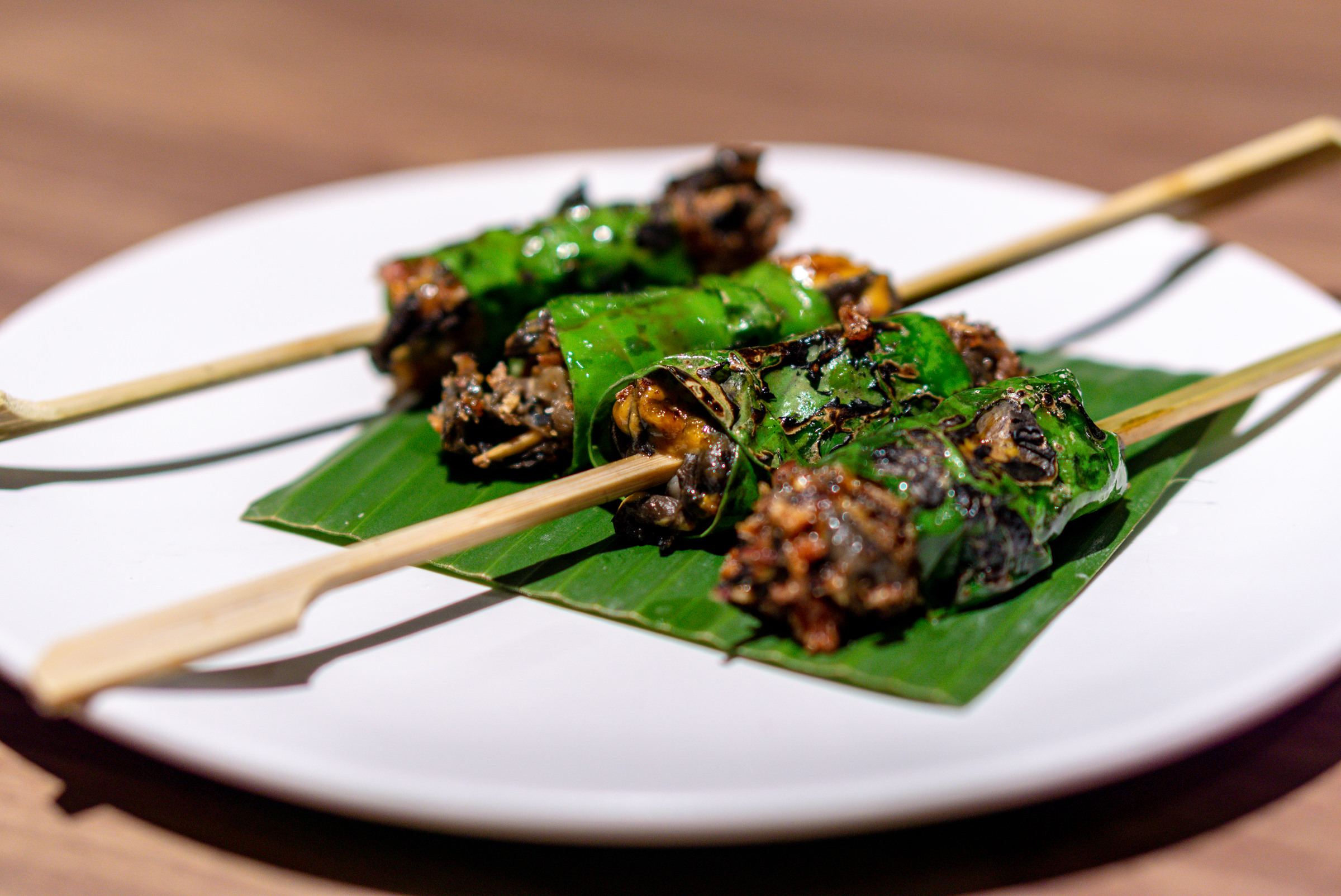 Restaurant Ibid, Woo Wai Leong - Skewered Escargot Skewers