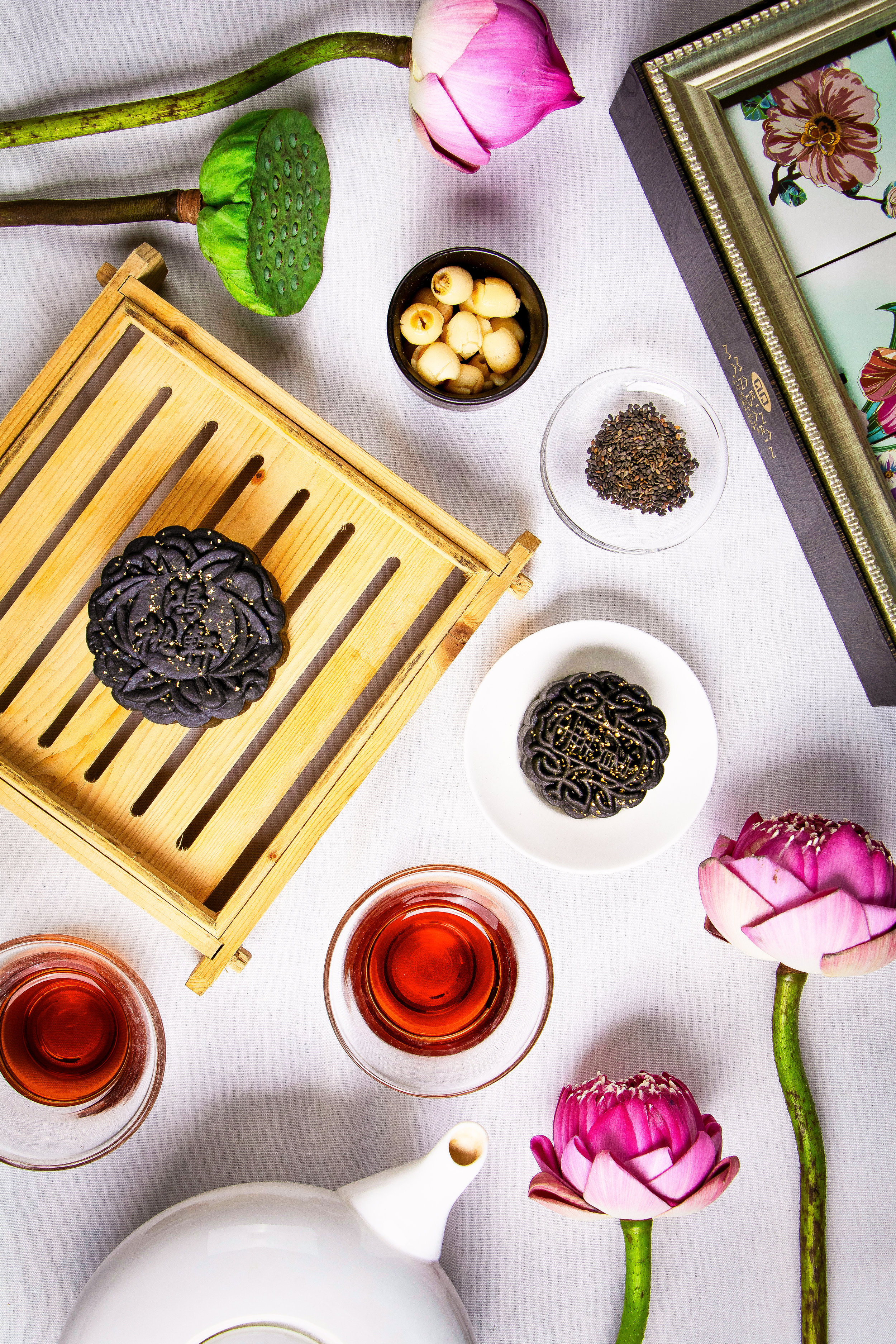 Charcoal Black Sesame Paste with Melon Seeds and Gold Dust -1.jpg