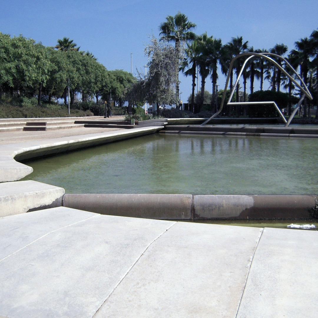 Parc del Diagonal Mar in Barcelona