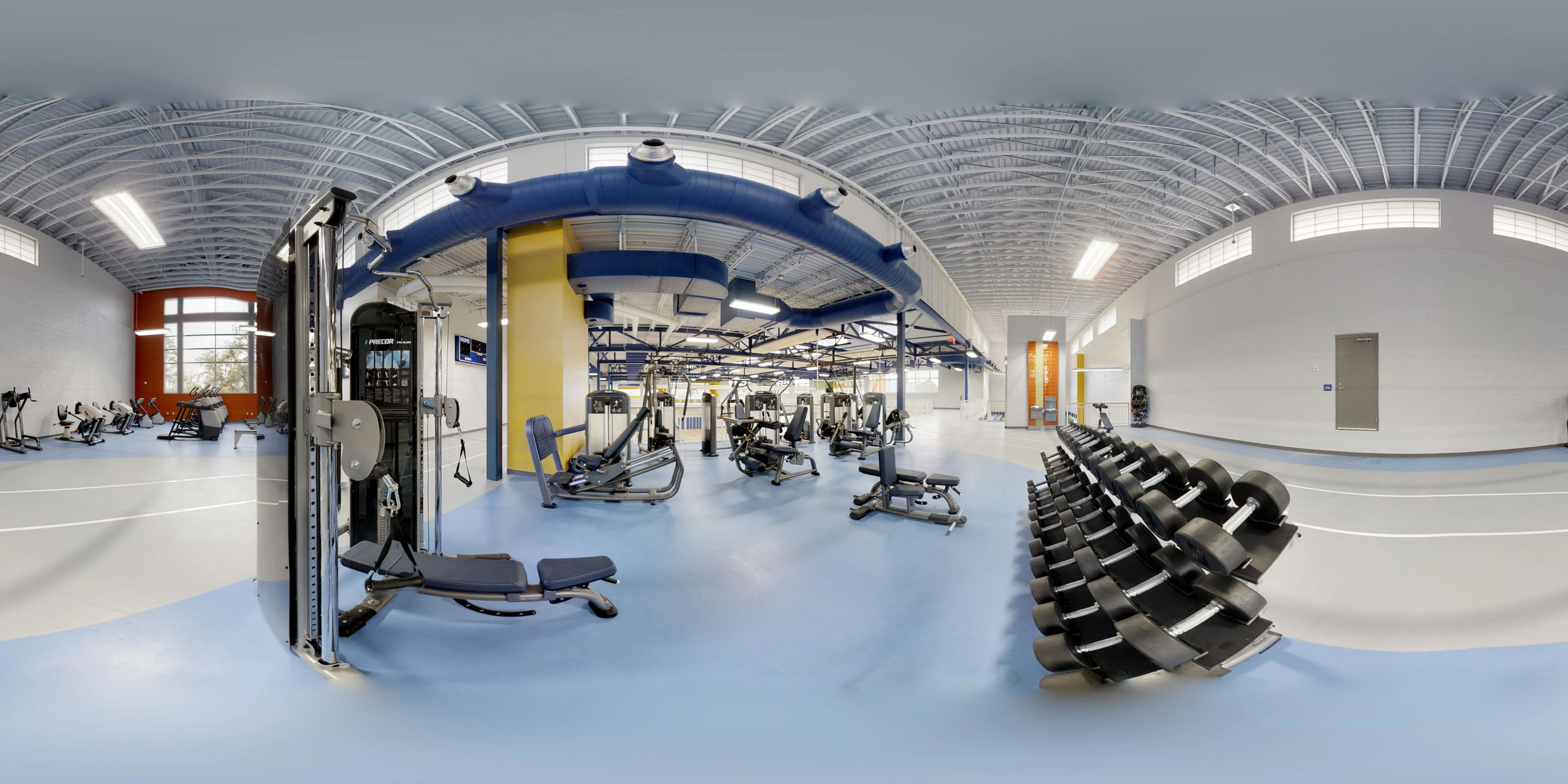 Take a tour - Welcome to the new and improved Island Recreation Center