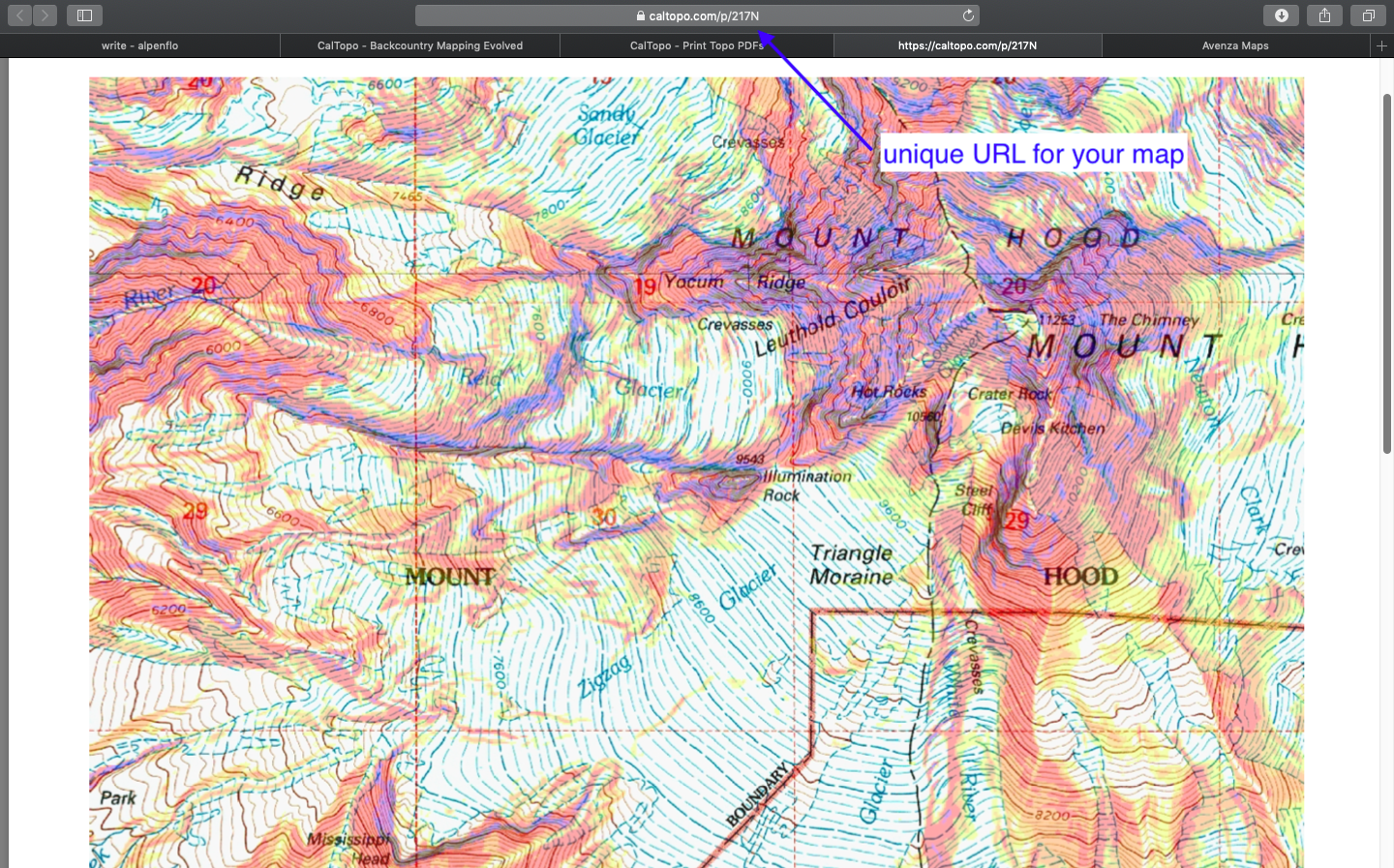 how-to: free slope-angle maps for your phone — alpenflo on