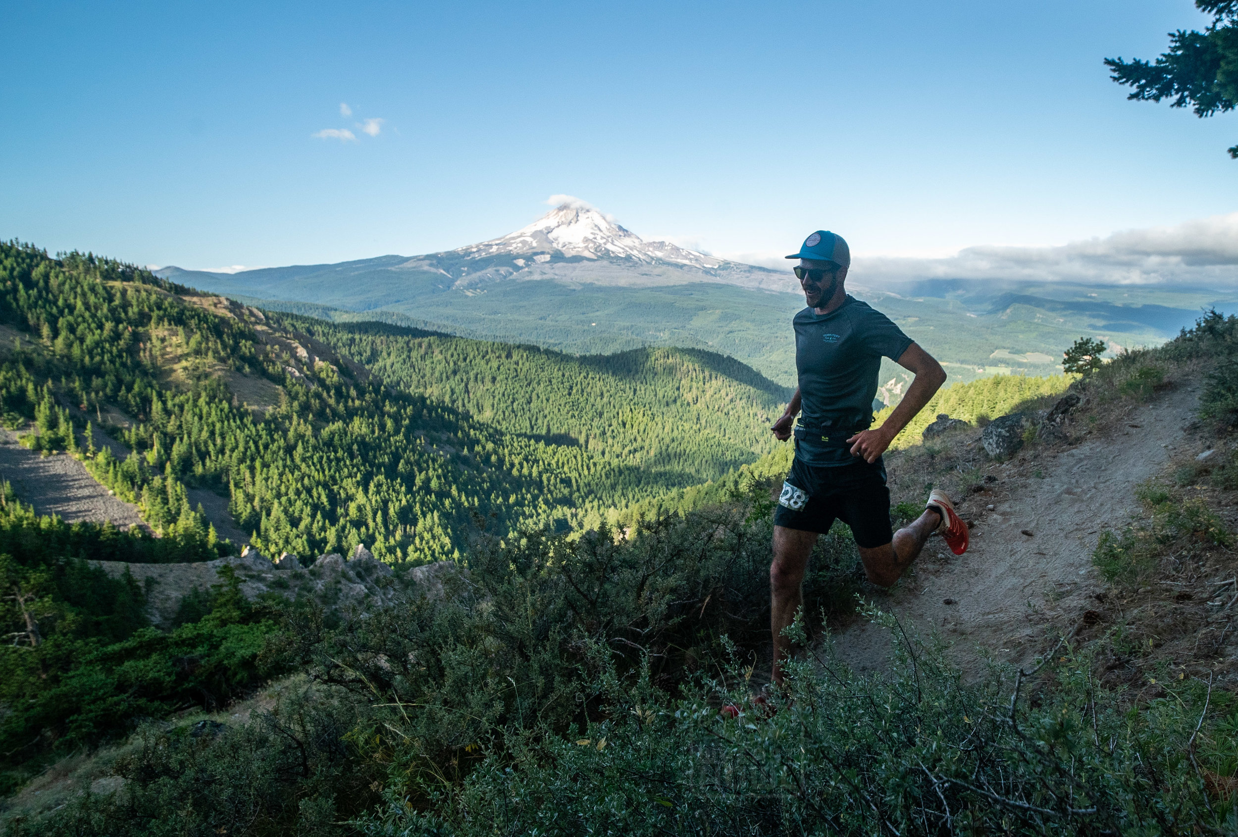 racing the Wy'East Howl 50k after learning to see competition in a new light - photo Steven Mortinson
