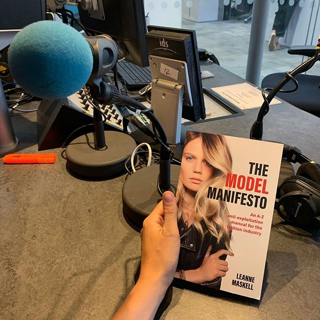 Amazing to be with @bbc Radio 4 who are recording a series on the financial & sexual exploitation of models - something that is so rarely properly spoken about and the part of the book that I am most passionate about changing! 🙌🏽 incredibly grateful to see this conversation start as a result of the book 🌎
