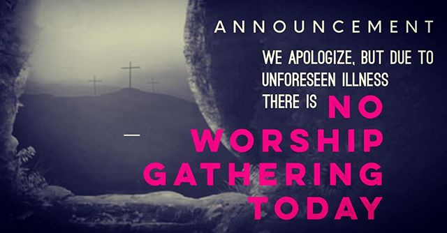 Really? On Easter Sunday? 🤷🏽♀️ We are totally bummed, but as we are still pretty new, we don't have any backup singers [or pastors] YET to conduct service in our absence. 🎵 We hope you have an awesome day celebrating the Savior's resurrection with family + friends. We LOVE you, and will see you Sunday, May 5 in Springdale! ❤️ • • #lgbtq #inclusive #affirmingchurch #socialjustice #faith #hope #love #gay #allies #motivationalspeaker #speaker #workshops  #allarewelcomehere #pride #lgbtq  #spiritualequality #fayetteville #northwestarkansas #fayettevillepride #nwa #bentonville #springdale #repainthate #arkansas  #unity #diversity #diversityandinclusion