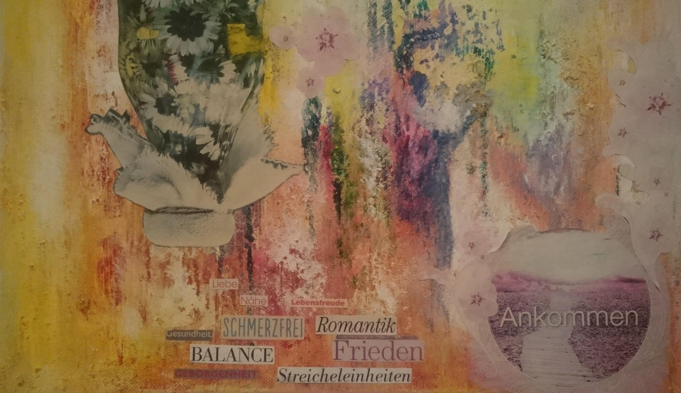 Collage, Gisela Schneider 2013