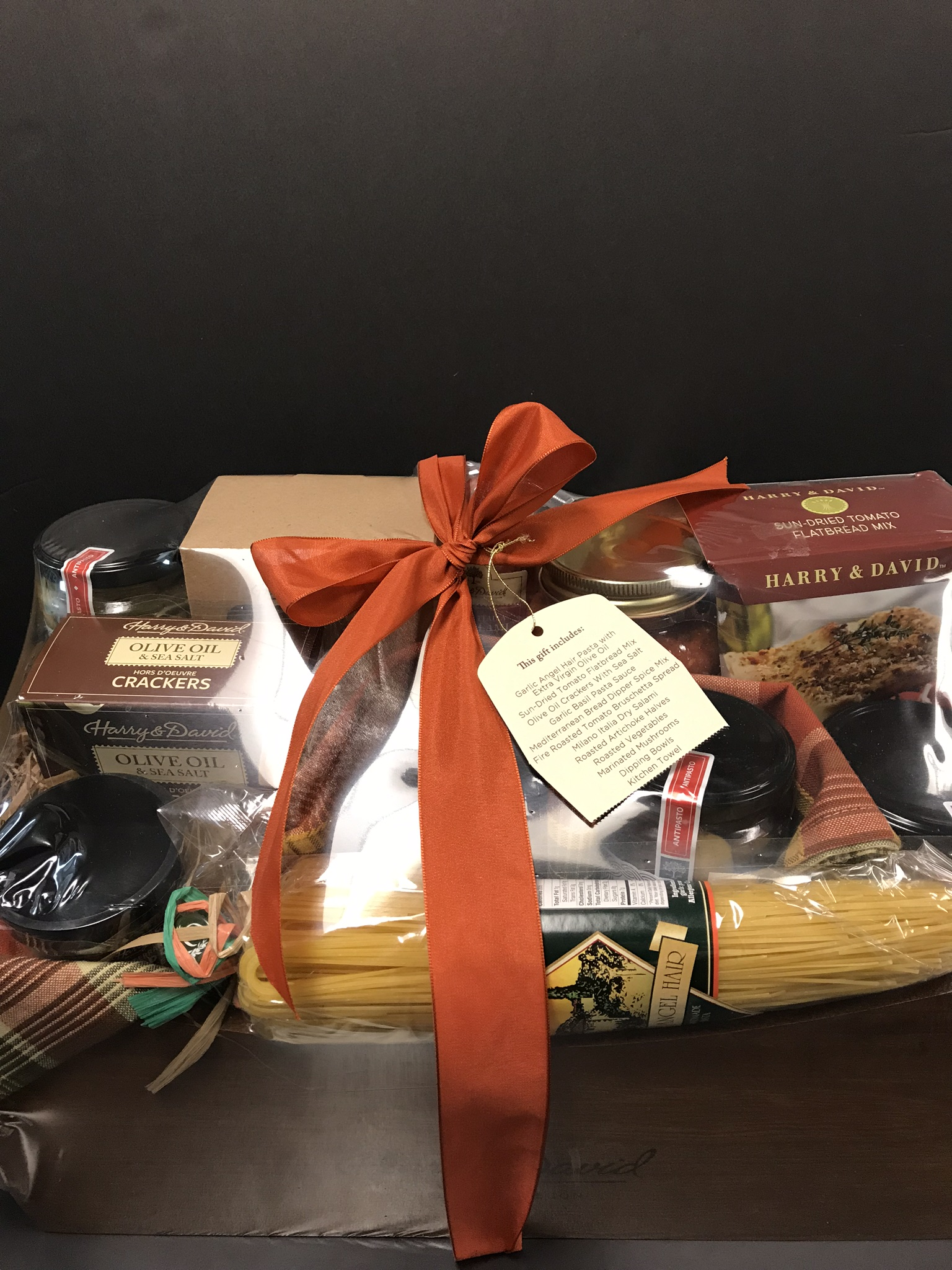 Harry & David Italian inspired gift basket - Value $40