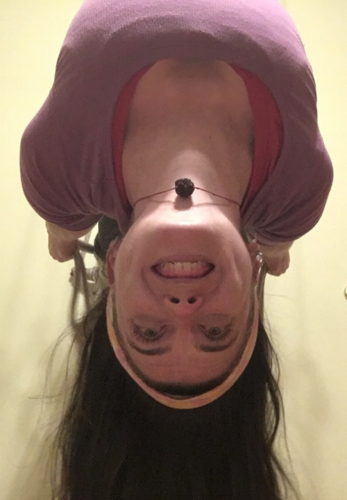 Because sometimes you need to turn your life is better upside down :)