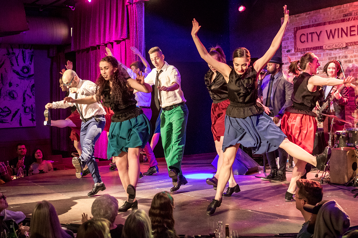 "The Chicago Tap Theatre performs in ""Sweet Tap Chicago"" at City Winery Chicago on Sunday, Mar. 11, 2018."