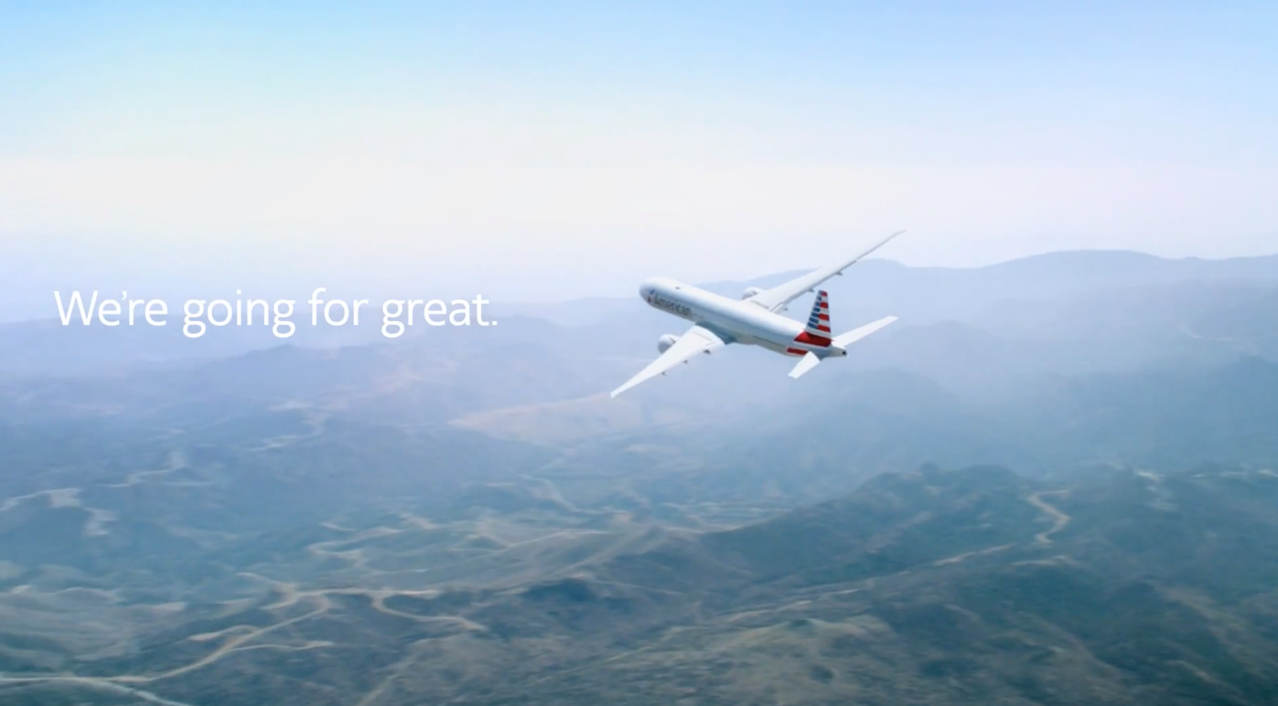 Going For Great   Client: American Airlines