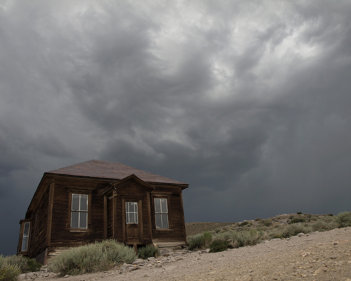 EMPTY HOUSE, Bodie Ghost Town, California.